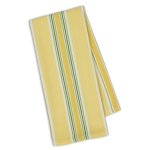 Limoncello Stripe Cotton Dish Towel 18x28 from Design Imports