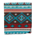 Rio Grande Southwest Themed Fleece Throw Blanket 50x60 from Design Imports