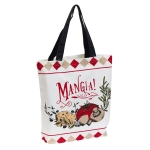 Mangia! Printed Cotton Daily Tote Bag from Design Imports