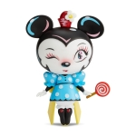 World of Miss Mindy Vinyl Minnie Mouse With Lollipop Figurine (Disney Designer Collection) 7 Inch from Enesco
