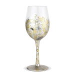 Snake Skin Inspired Venom Wine Glass 15 Oz by Lolita from Enesco