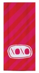Red & Pink Valentine Themed XOXO Cotton Kitchen Dish Tea Towel from Kay Dee Designs
