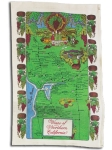 Wines of California Cotton Kitchen Dish Towel 18x28 from Kay Dee Designs