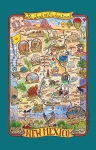 New Mexico Land Of Enchantment Adventure Destinations Cotton Dish Tea Towel from Kay Dee Designs