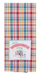 It's A Wisconsin Thing Embroidered Applique Cotton Kitchen Dish Tea Towel 18x28 from Kay Dee Designs
