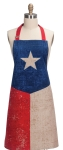 Vintage Texas Cotton Chef Apron from Kay Dee Designs