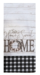 Farm House Themed Home Sweet Home Dual Purpose Cotton Dish Terry Towel from Kay Dee Designs