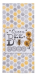 Bumblebee & Sunflowers Queen Bee Dual Purpose Kitchen Dish Terry Towel 16x26 from Kay Dee Designs