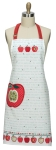 Happy Apple Themed Cotton Kitchen Chef Apron from Kay Dee Designs