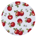 Apple Picking Braided Round Table Placemat 14.5 Inch from Kay Dee Designs
