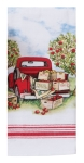 Apple Picking Truck Dual Purpose Cotton Kitchen Dish Terry Towel 16x26 from Kay Dee Designs