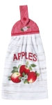 Apples Print Design Cotton Kitchen Dish Tie Towel 9x18 from Kay Dee Designs