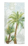 Palm Tree Print Design Dual Purpose Cotton Kitchen Dish Terry Towel 16x26 from Kay Dee Designs