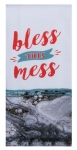 Bless The Mess Dual Purpose Cotton Kitchen Dish Terry Towel 16x26 from Kay Dee Designs
