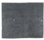 Graphite Gray Kitchen Countertop Dish Drying Mat from Kay Dee Designs