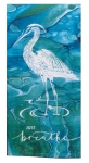 Coastal Tranquility Just Breathe Stork Design Cotton Dual Purpose Terry Dish Towel 16x26 from Kay Dee Designs