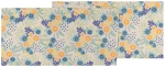 Rosa Colorful Floral Print Design Table Runner Cloth 13x72 from Now Designs