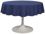 Indigo Blue Renew Round Tablecloth 60 Inch from Now Designs
