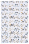 Sweet Ride Bicycle Themed Cotton Dish Towel 28x18 from Now Designs
