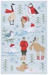 Nice Weather Eh? Canada Themed Cotton Dish Tea Towel 28x18 from Now Designs