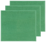 Set of 3 Green Cotton Bar Mop Towels 18x16 from Now Designs