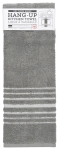 London Gray Hang-Up Cotton Hand Towel Dish Towel 19x7 from Now Designs