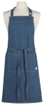 Denim Blue Cotton Chef Apron from Now Designs