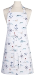 Compass Anchor & Lighthouse Design Cotton Kitchen Chef Apron from Now Designs