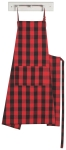 Red & Black Buffalo Check Mighty Cotton Kitchen Apron from Now Designs