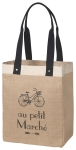 Bicyble Themed Marche Market Tote Bag from Now Designs