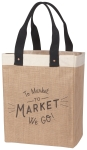 To Market To Market We Go Shopping Tote Bag from Now Designs