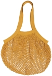 Gold French Inspired Le Marché Cotton Net Grocery Shopping Bag from Now Designs