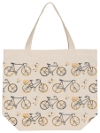 Sweet Ride Bicycle Print Design Cotton Tote Bag from Now Designs