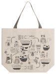 Cat Lover Purr Party Cotton Tote Bag from Now Designs