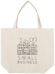 I Heart Small Business Cotton Tote Bag from Now Designs