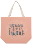 Bless Your Heart Cotton Tote Bag from Now Designs