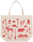 O Canada Themed Cotton Tote Bag from Now Designs