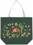 Armadillos & Cactus Print Design Cotton Tote Bag from Now Designs
