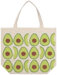 Avocado Print Design Cotton Daily Tote Bag from Now Designs