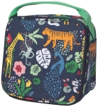 Wild Bunch Animal & Botanical Themed Cotton Canvas Lunch Bag from Now Designs
