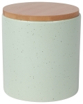 Seafoam Green Medium Terrain Stoneware Canister from Now Designs