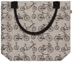Wild Riders Bicycle Themed Vegan Paper Tote Bag from Now Designs