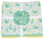 Meadowlark Themed Cotton Kitchen Dish Towels Set of 3 from Now Designs