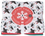 Puffin Part Cotton Kitchen Floursack Dish Towels  Set of 3 from Now Designs