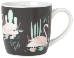 Swan Lake Porcelain Coffee Mug 12 Oz from Now Designs