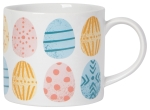 Easter Eggs Design Stoneware Coffee Mug in a Box 14 Oz from Now Designs