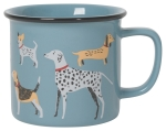 Dog Lover Dog Print Design Stoneware Coffee Mug 14 oz from Now Designs