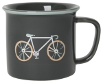 Sweet Ride Bicycle Themed Stoneware Coffee Mug 14 oz from Now Designs