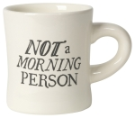 Not A Morning Person Stoneware Coffee Mug 12 oz from Now Designs