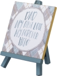 Dad My First Love My Forever Hero Decorative Easel Sign  from Primitives by Kathy